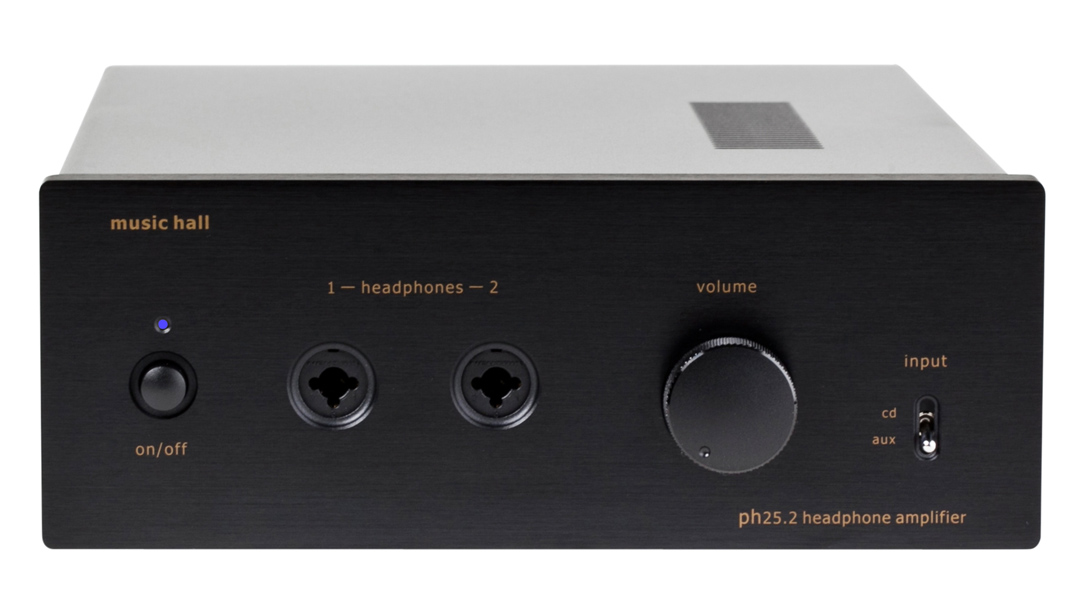 music hall ph25.2 hybrid headphone amplifier