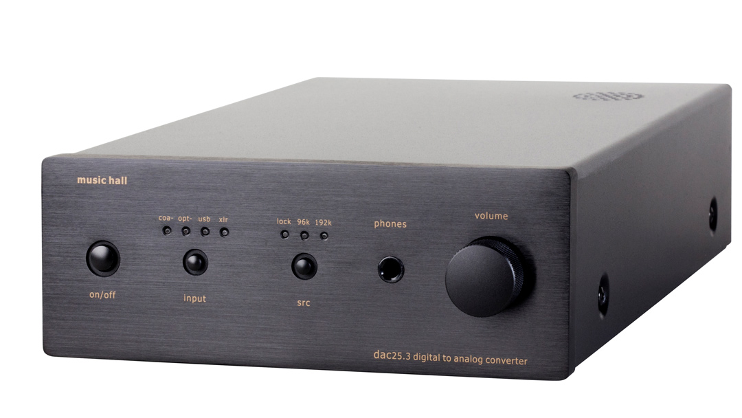 music hall dac25.3 front