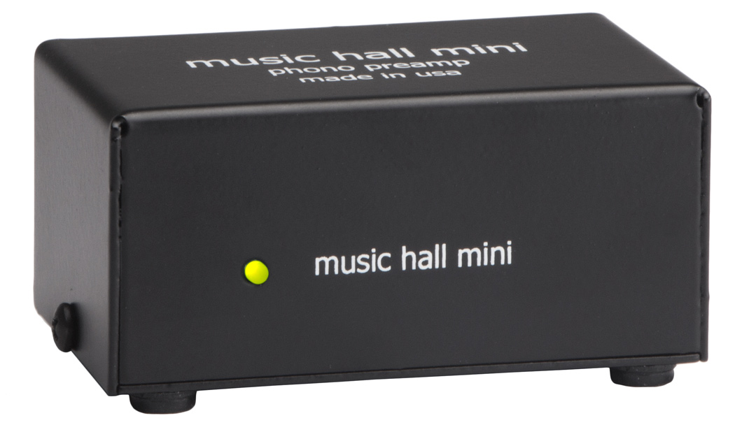 music hall mini phono amplifier 3/4