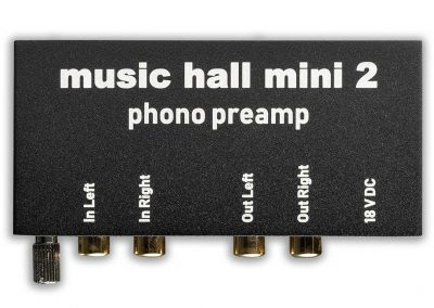 music hall mini 2 phono preamplifier (top)