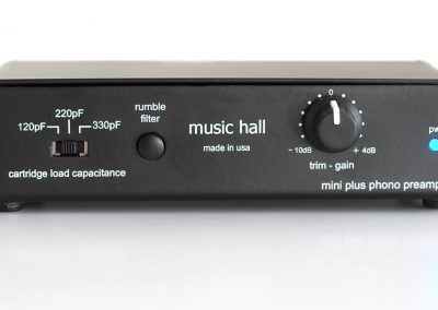 music hall mini plus phono preamp (front)