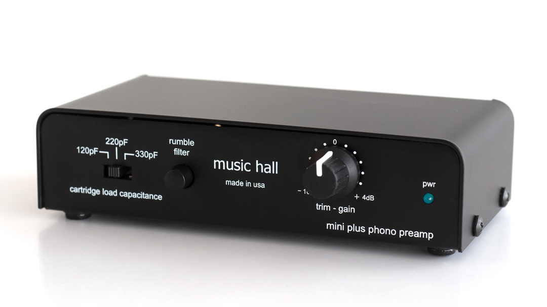 music hall audio mini 2 phono preamplifier for MM and high