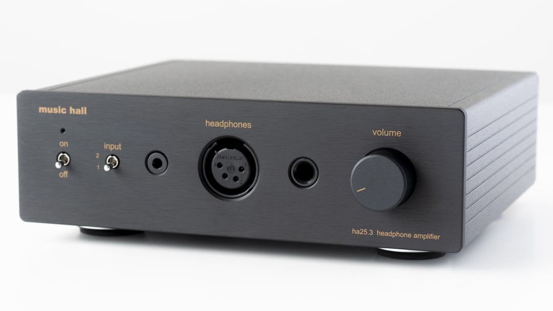 music hall ha23.3 headphone amplifier angle