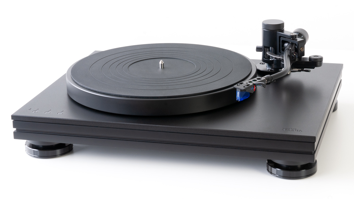 music hall stealth turntable front view