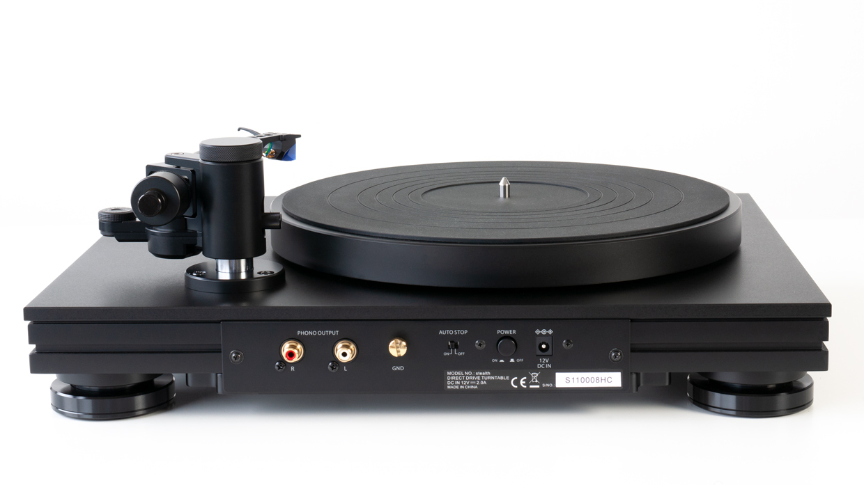music hall stealth turntable (back view)